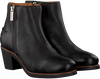 Schwarze SHABBIES Stiefeletten 182020109 - small