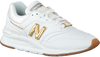 Weiße NEW BALANCE Sneaker low CW997  - small
